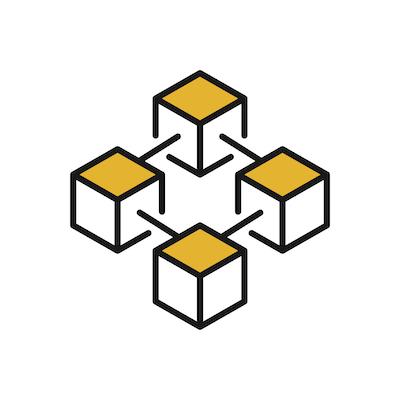 blockchain-yellow